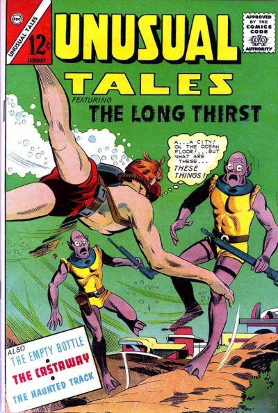 Cover for Unusual Tales (Charlton, 1955 series) #48