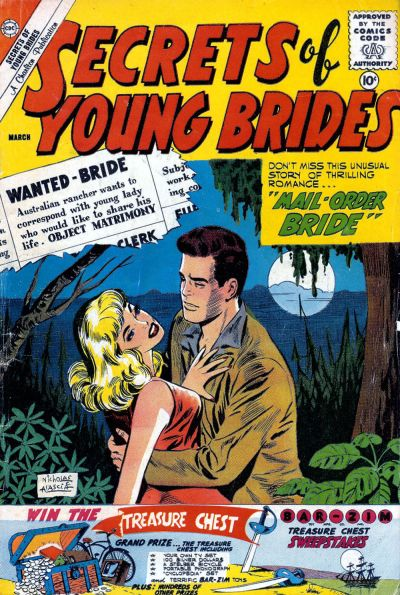 Cover for Secrets of Young Brides (Charlton, 1957 series) #24