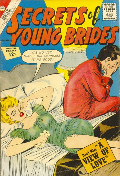 Cover for Secrets of Young Brides (Charlton, 1957 series) #34