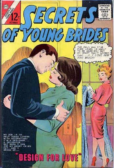 Cover for Secrets of Young Brides (Charlton, 1957 series) #44