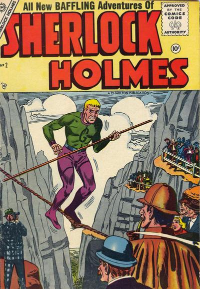 Cover for Sherlock Holmes (Charlton, 1955 series) #2