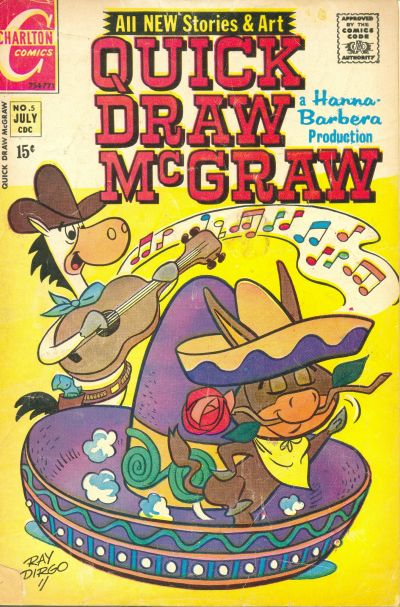 Cover for Quick Draw McGraw (Charlton, 1970 series) #5