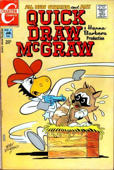 Cover for Quick Draw McGraw (Charlton, 1970 series) #8
