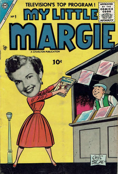Cover for My Little Margie (Charlton, 1954 series) #9
