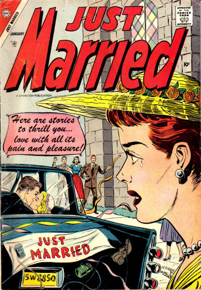 Cover for Just Married (Charlton, 1958 series) #1