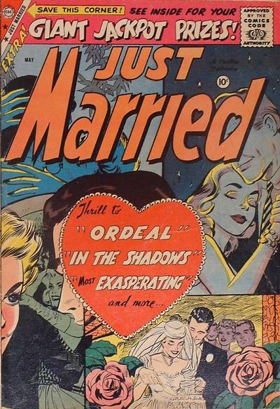 Cover for Just Married (Charlton, 1958 series) #8