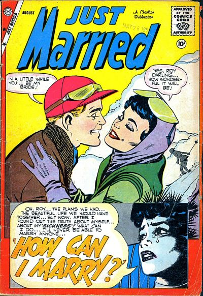 Cover for Just Married (Charlton, 1958 series) #9