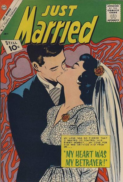 Cover for Just Married (Charlton, 1958 series) #20