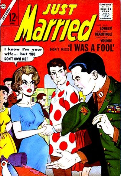 Cover for Just Married (Charlton, 1958 series) #30