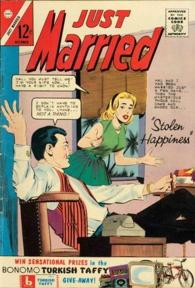 Cover for Just Married (Charlton, 1958 series) #33