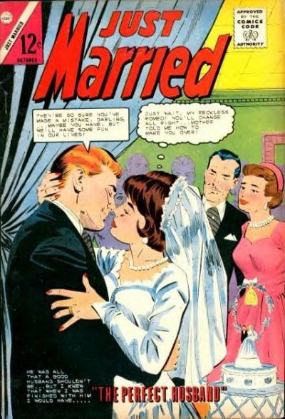 Cover for Just Married (Charlton, 1958 series) #38
