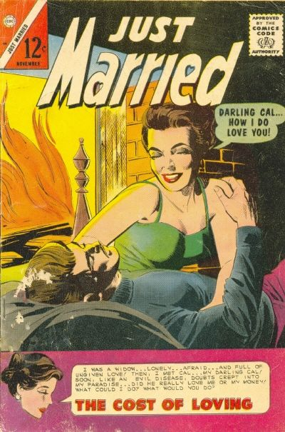 Cover for Just Married (Charlton, 1958 series) #44