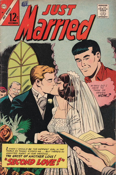 Cover for Just Married (Charlton, 1958 series) #50