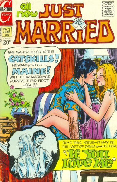 Cover for Just Married (Charlton, 1958 series) #95