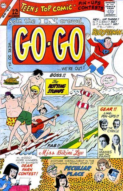 Cover for Go-Go (Charlton, 1966 series) #4