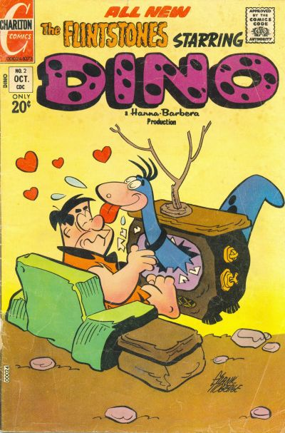 Cover for Dino (Charlton, 1973 series) #2
