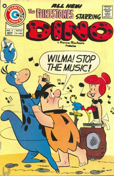 Cover for Dino (Charlton, 1973 series) #6