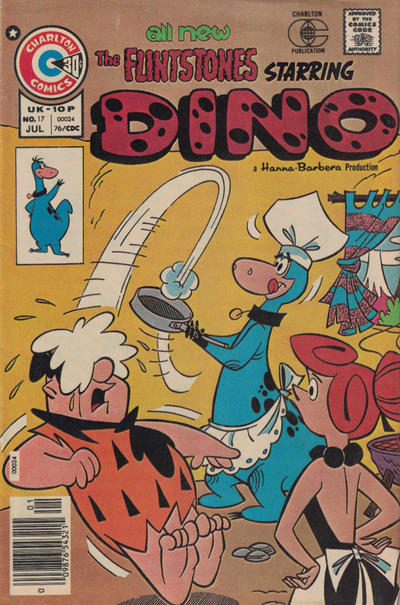 Cover for Dino (Charlton, 1973 series) #17