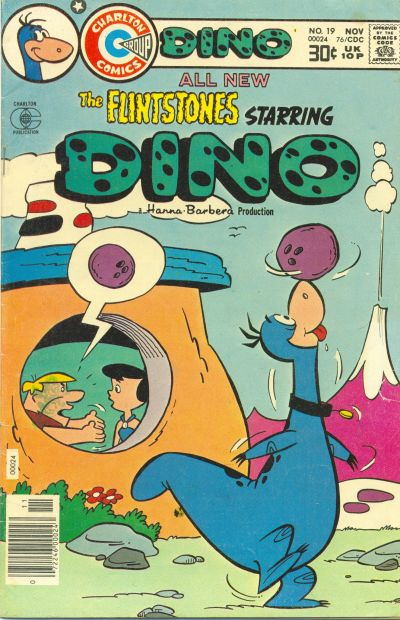 Cover for Dino (Charlton, 1973 series) #19