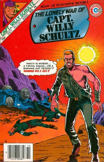 Cover for Capt. Willy Schultz (Charlton, 1985 series) #76