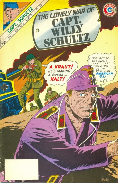 Cover for Capt. Willy Schultz (Charlton, 1985 series) #77