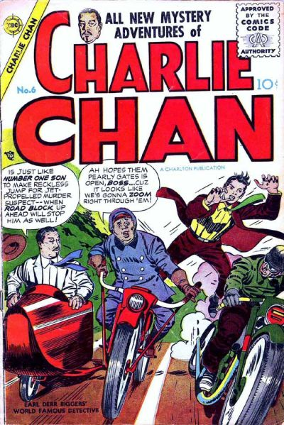 Cover for Charlie Chan (Charlton, 1955 series) #6