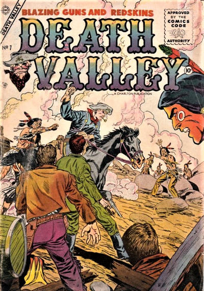 Cover for Death Valley (Charlton, 1955 series) #7