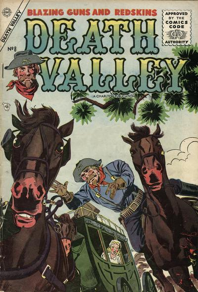 Cover for Death Valley (Charlton, 1955 series) #8