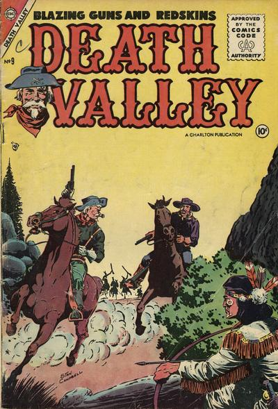 Cover for Death Valley (Charlton, 1955 series) #9