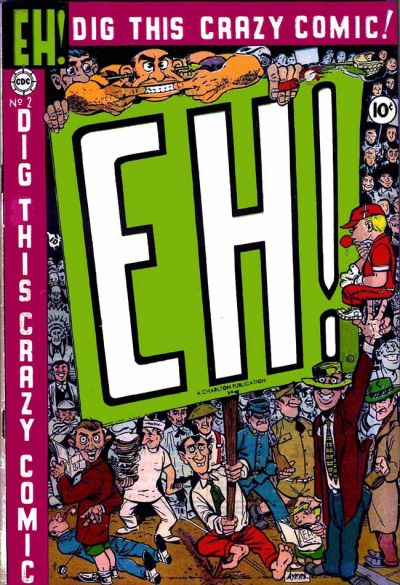 Cover for Eh! (Charlton, 1953 series) #2
