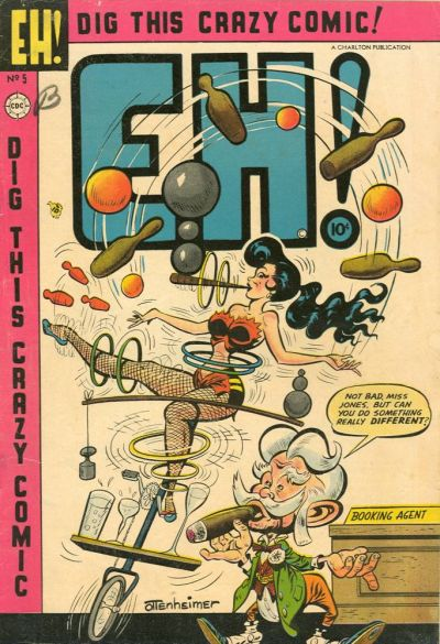 Cover for Eh! (Charlton, 1953 series) #5