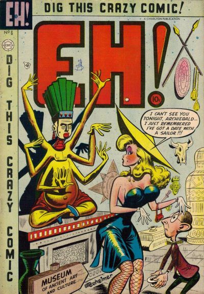 Cover for Eh! (Charlton, 1953 series) #6