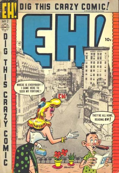 Cover for Eh! (Charlton, 1953 series) #7