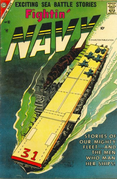 Cover for Fightin' Navy (Charlton, 1956 series) #81