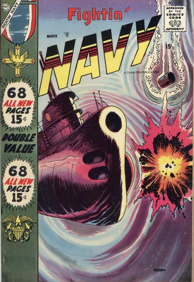 Cover for Fightin' Navy (Charlton, 1956 series) #82