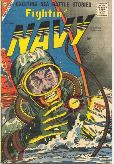Cover for Fightin' Navy (Charlton, 1956 series) #84