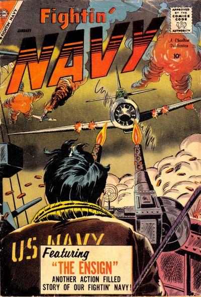 Cover for Fightin' Navy (Charlton, 1956 series) #85