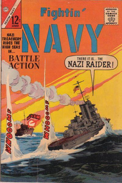 Cover for Fightin' Navy (Charlton, 1956 series) #111