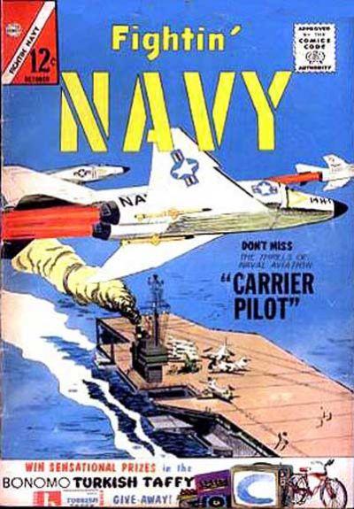 Cover for Fightin' Navy (Charlton, 1956 series) #112
