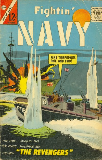 Cover for Fightin' Navy (Charlton, 1956 series) #117