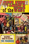 Cover for Outlaws of the West (Charlton, 1957 series) #39
