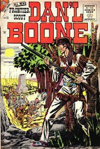 Cover for Frontier Scout, Dan'l Boone (Charlton, 1956 series) #10
