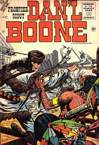 Cover Thumbnail for Frontier Scout, Dan'l Boone (Charlton, 1956 series) #12