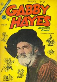 Cover Thumbnail for Gabby Hayes (Charlton, 1954 series) #52