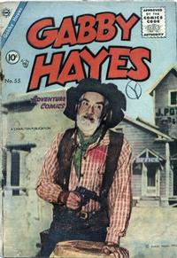 Cover Thumbnail for Gabby Hayes (Charlton, 1954 series) #55