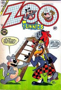 Cover Thumbnail for Zoo Funnies (Charlton, 1953 series) #5