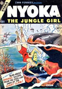 Cover Thumbnail for Zoo Funnies (Charlton, 1953 series) #10