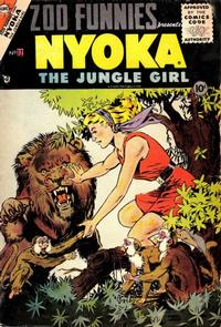 Cover Thumbnail for Zoo Funnies (Charlton, 1953 series) #12