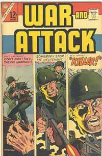 Cover Thumbnail for War and Attack (Charlton, 1966 series) #55