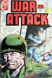 Cover Thumbnail for War and Attack (Charlton, 1966 series) #62